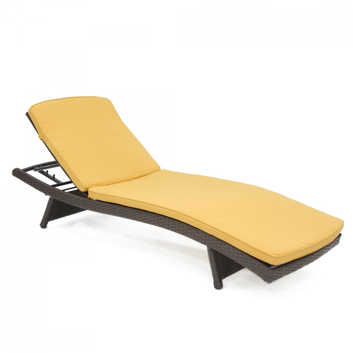 Mustard Yellow Chaise Lounger Cushion
