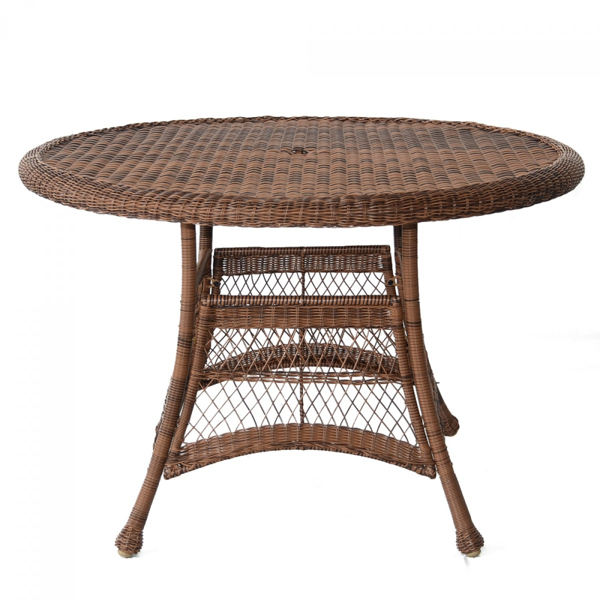 Honey wicker 44 round dining table for 44 inch round dining table