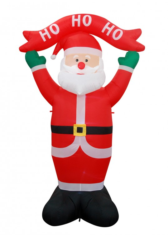 8FT SANTA  INFLATABLE