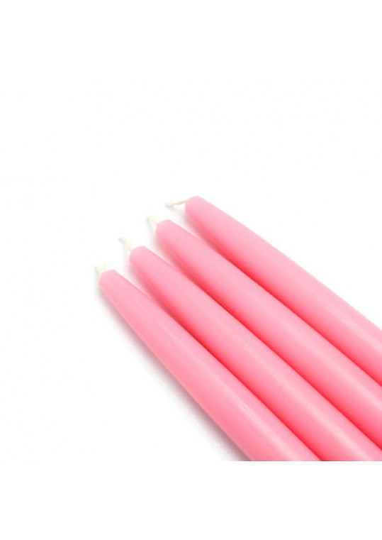 "6"" Pink Taper Candles (144pcs/Case) Bulk"