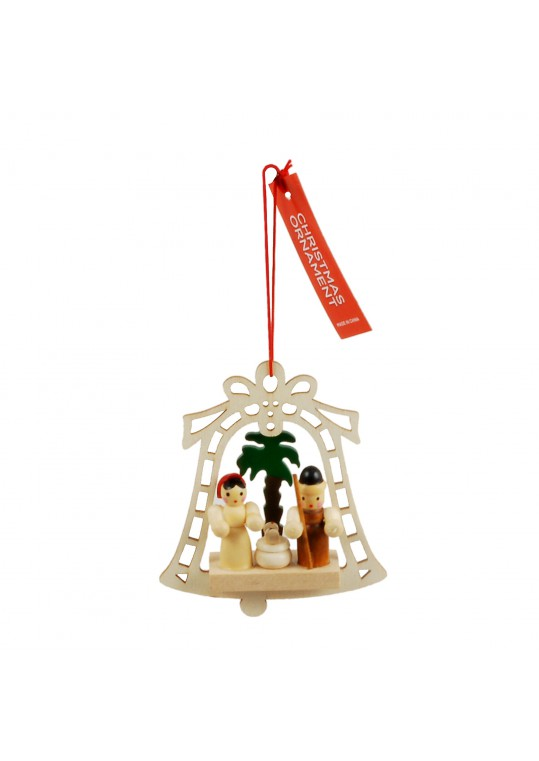 Christmas Hanging Wooden House Ornament