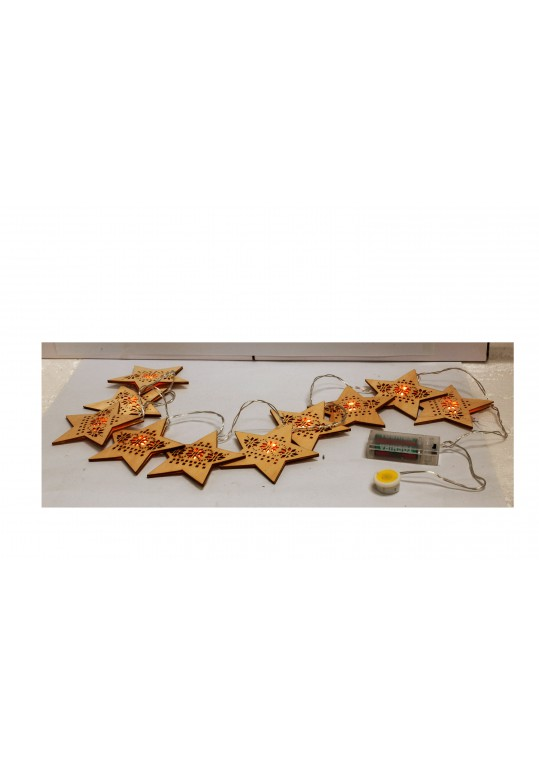 Christmas Star String Lights (Set of 10)
