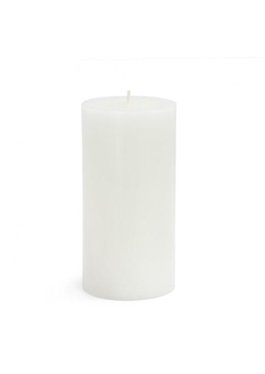 """3 x 6"""" White Pillar Candles(12pcs/Case) Bulk"""