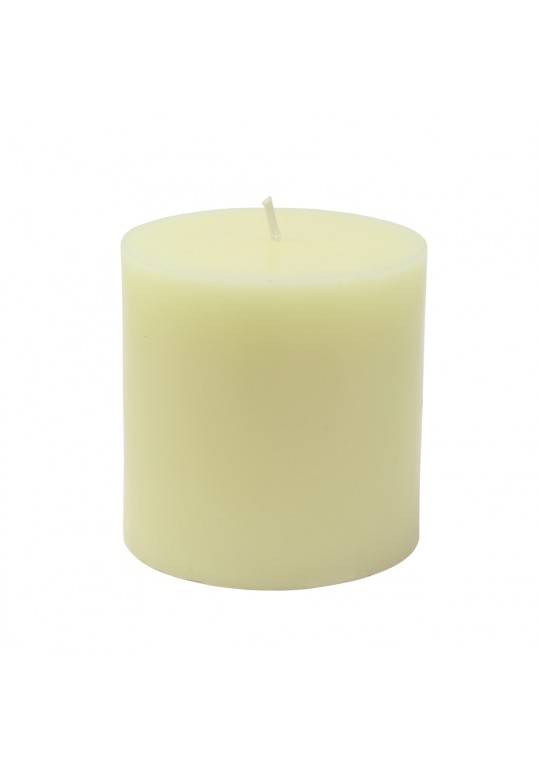 "3 x 3"" Ivory Pillar Candles (12pcs/Case) Bulk"