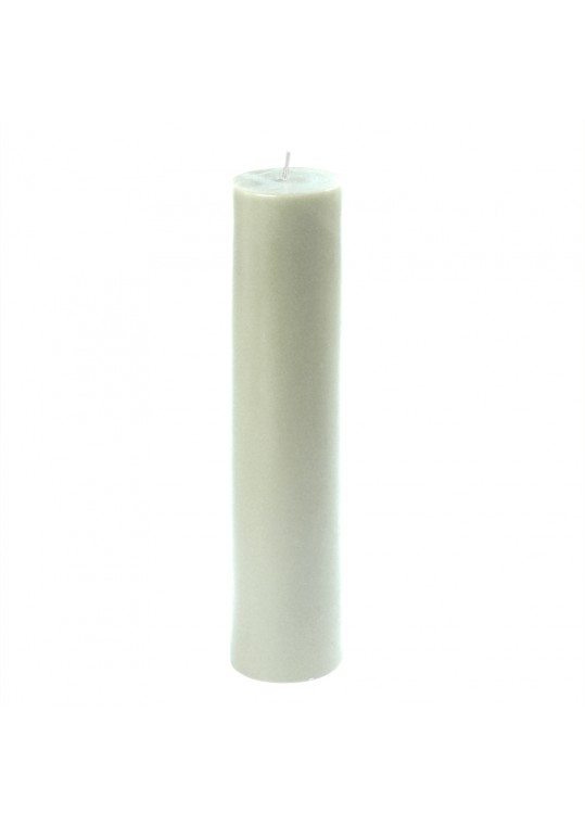 "2 x 9"" White Pillar Candle"