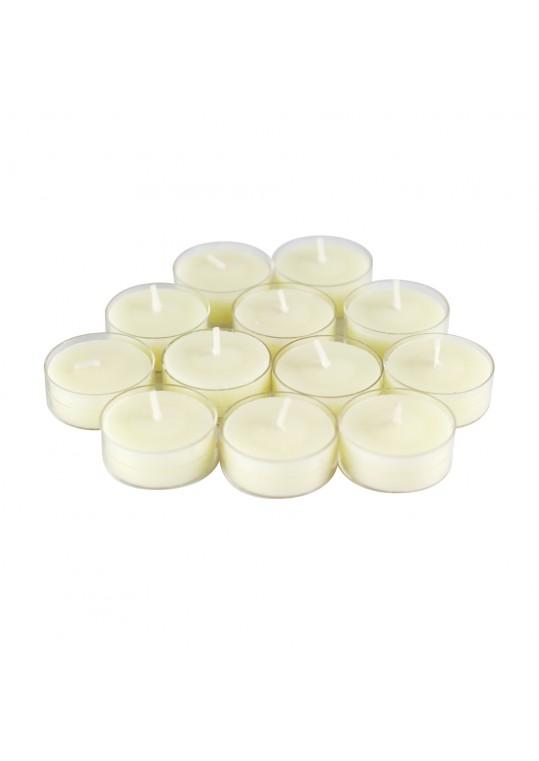 Vanilla Scented Ivory TeaLight Candles (288pcs/Case) Bulk