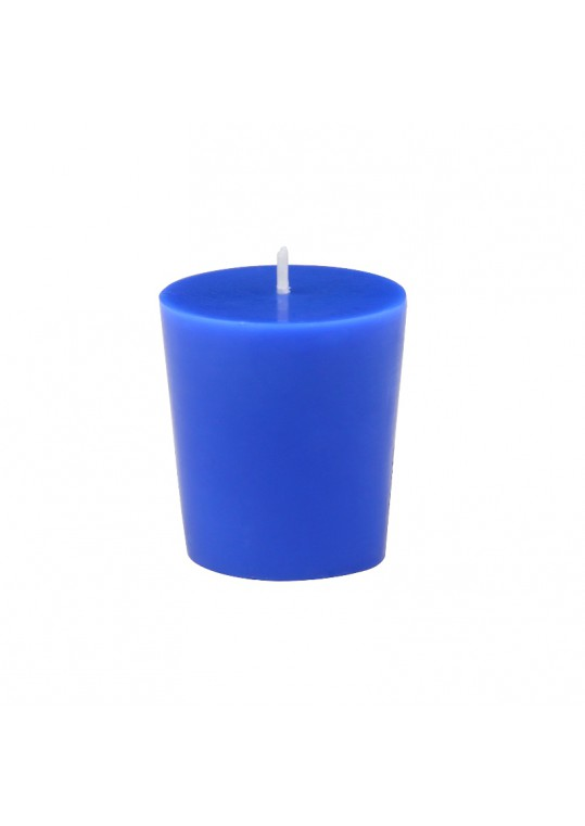 Frosted Blue Votive Tea Light Candle Holders 4 Pack Discontinued