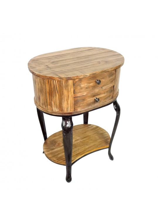 Heritage 2-Drawer Side Table