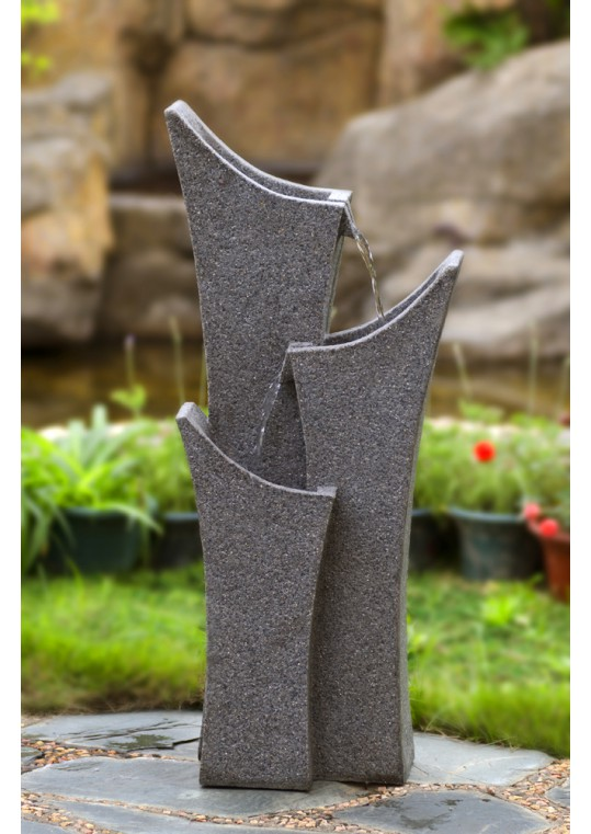 Gray Sandstone Indoor/Outdoor Water Fountain
