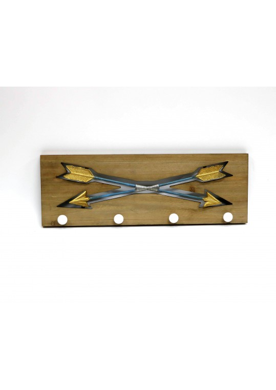 Crossed Arrows Key Holder