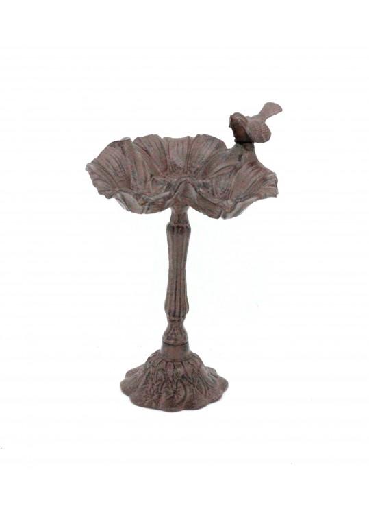 """16"""" Decoractive Bird Feeder Pole-Brown"""