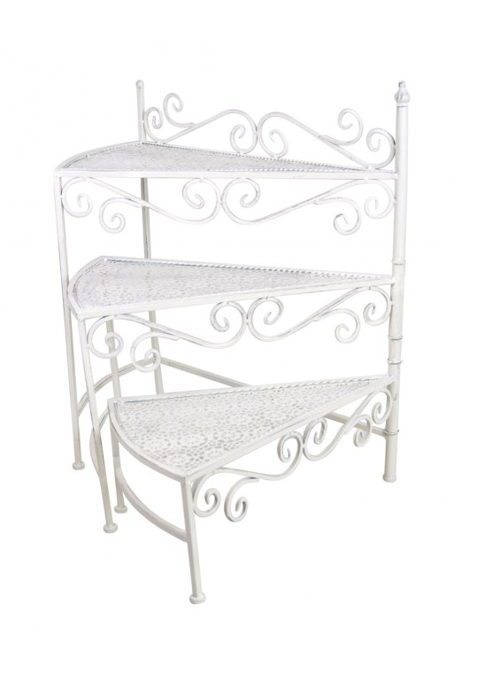 Caromb 3-Tiered Triangular Accent Stand