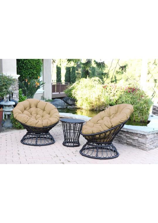 Tan Cushion for Papasan Swivel Chair