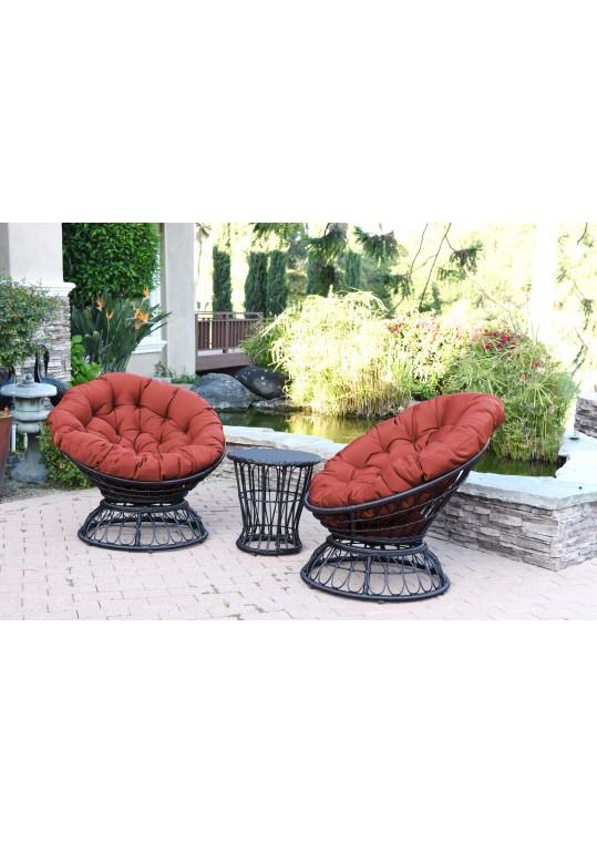 Red Cushion for Papasan Swivel Chair