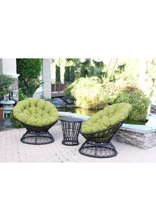 Green Cushion for Papasan Swivel Chair