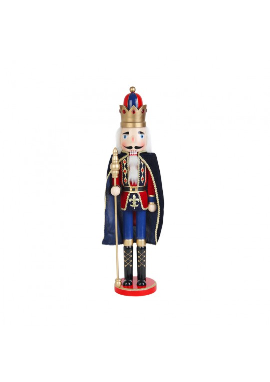 24 Inch  Nutcracker King with Cape