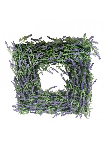 Double face lavender wooden-frame