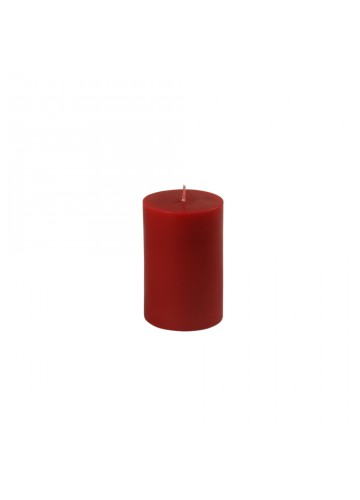 "2 x 3"" Red Pillar Candle"