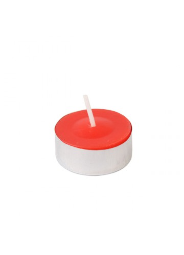 Red Citronella Tealight Candles (1200pcs/Case) Bulk