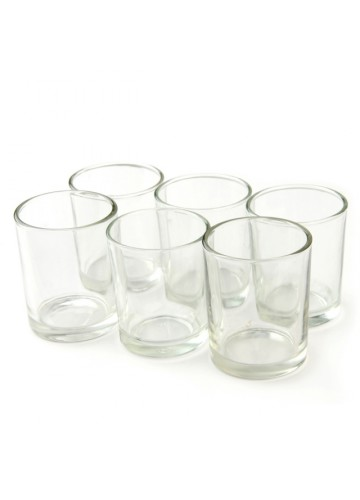 Round Glass Votive Holder (12pc/Box)