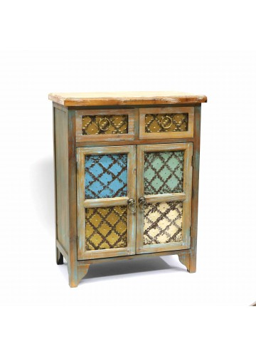 RUSTIC-STYLE STORAGE CABINET