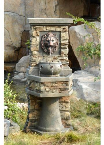 Lion Head Outdoor/Indoor Water Fountain