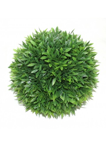 6.6 Inch Leaf Sphere