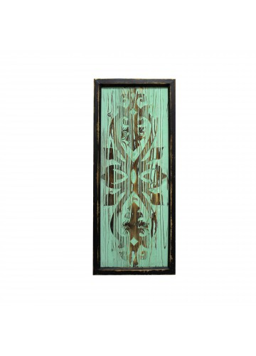 30 Inch Wood Deco- Green