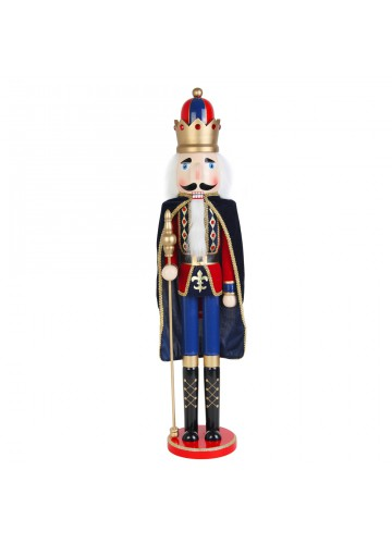 36 Inch  Nutcracker King with Cape