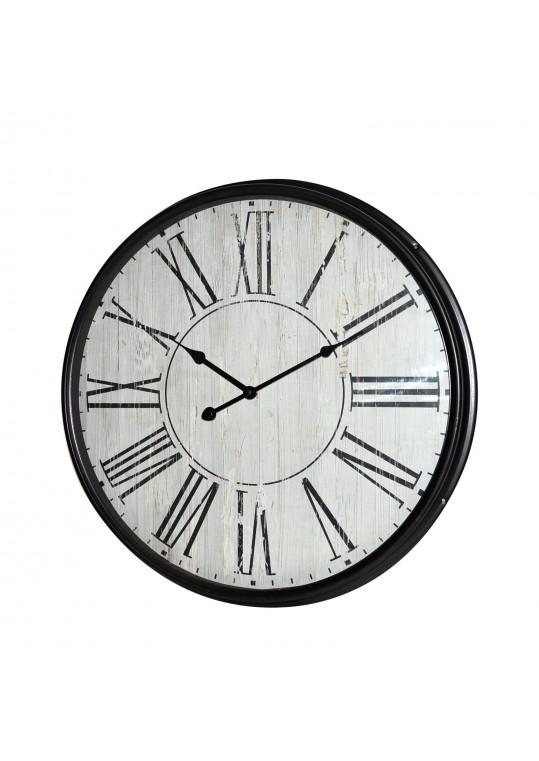 "21"" Classic Black Round Wall Clock"