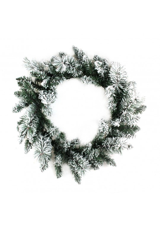 24 Inch White Wreath