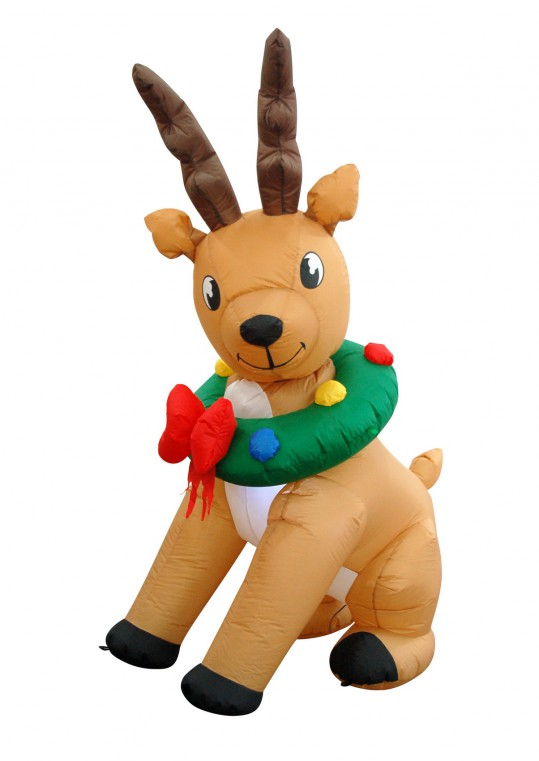 6FT INFLATABLE REINDEER -ANIMATION