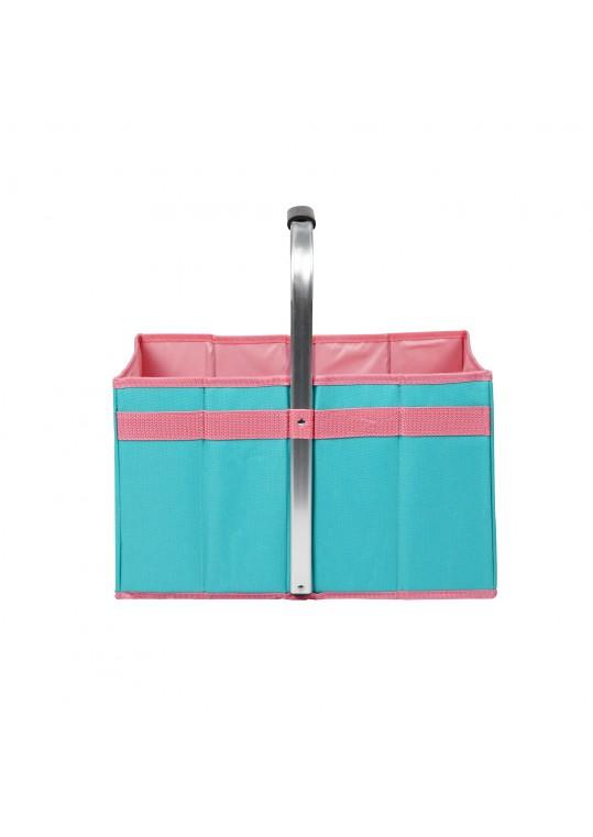 16.5 Inch H Foldable Picnic Basket