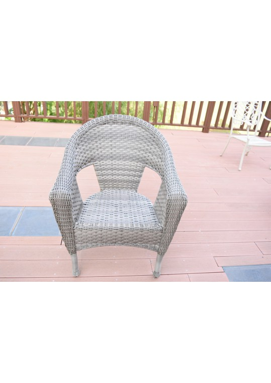 Grey Resin Wicker Clark Single Chair