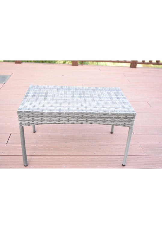 Grey Resin Wicker Clark Coffee Table