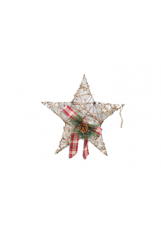 "23"" LED Hanging Star Wall Decor"