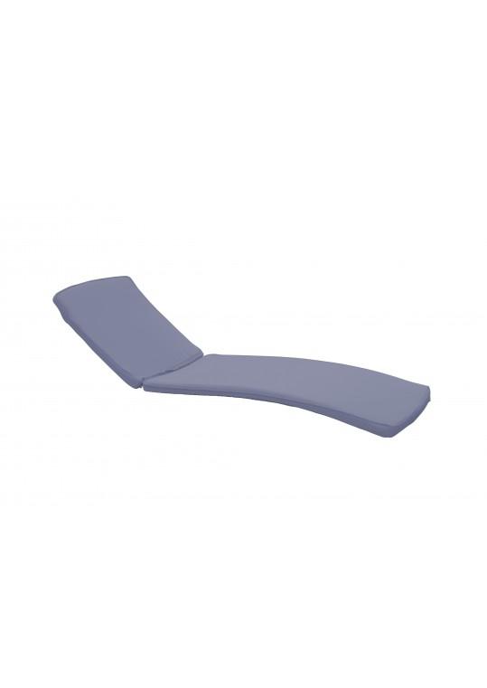 Steel Blue Chaise Lounger Cushion