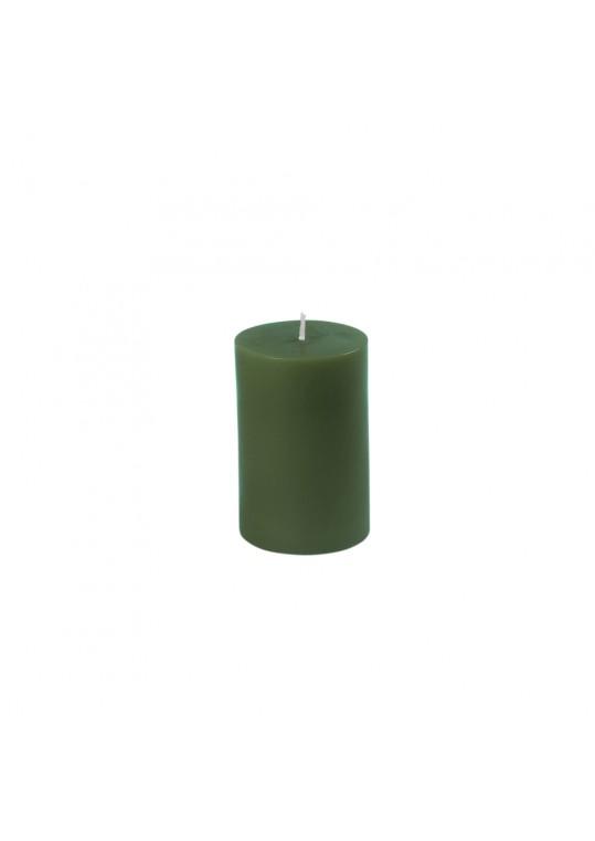 2 x 9 Inch Hunter Green Pillar Candle (12pcs/Case) Bulk