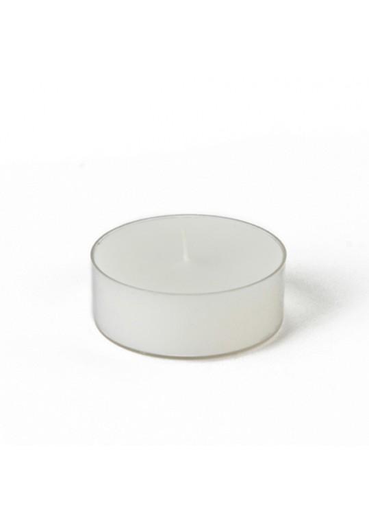 Mega Oversized White Tealights (144pcs/Case) Bulk