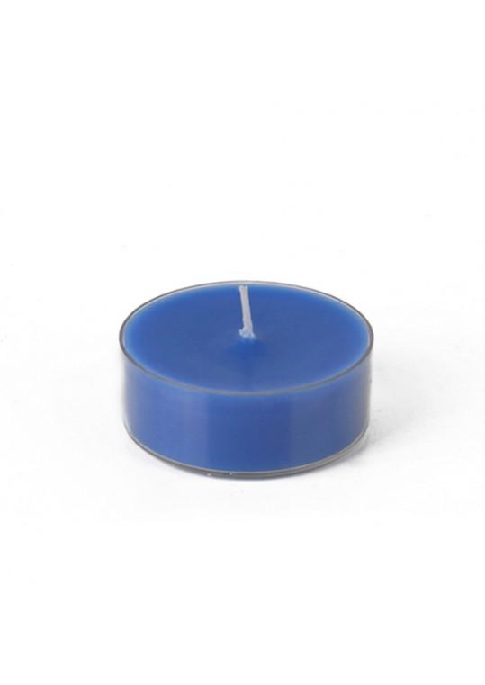 Mega Oversized Blue Tealights (144pcs/Case) Bulk