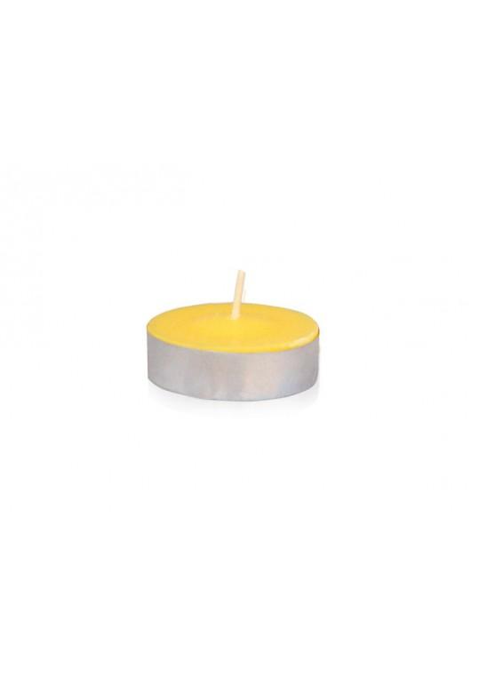Yellow Citronella Tealight Candles (1,200pcs/Case) Bulk