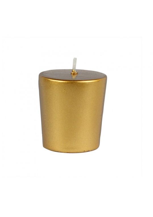 Metallic Bronze Gold Votive Candles (96pc/Case) Bulk