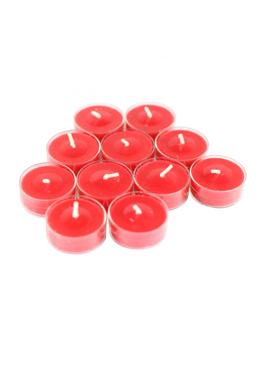 Cinnamon Cide Scented Red TeaLight Candles (288pcs/Case)