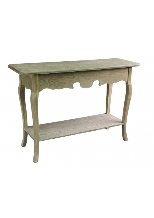Antique Wood Console Table