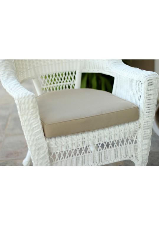 Tan Single Chair Cushion