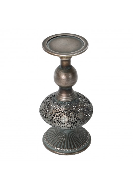 "10.25"" Metal Candle Holder"