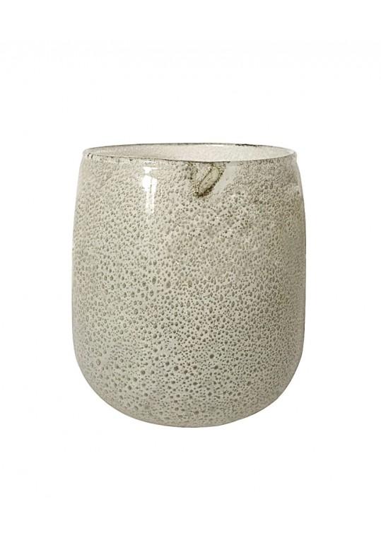 Atella 6.9 Inch x 7.1 Inch Round Glass Vase