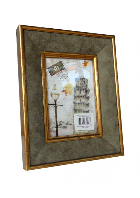 5 Inch x 7 Inch White Photo Frame