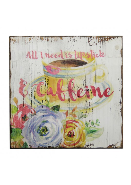 15.75 Inch x 15.75 Inch Inspirational Wall Plaque