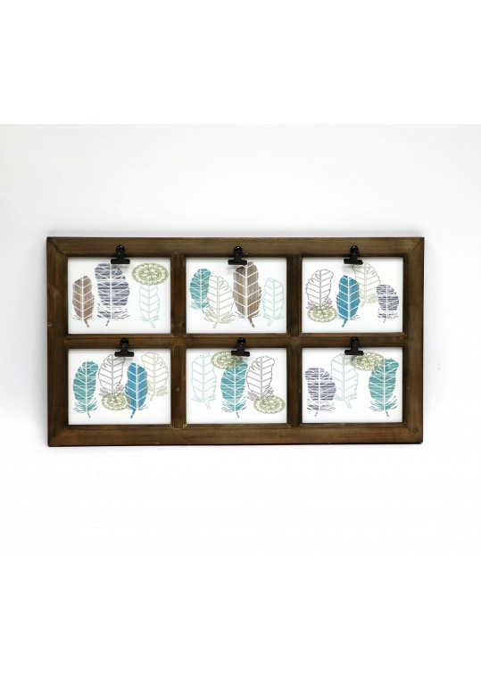 Wall-mounted Clip Board